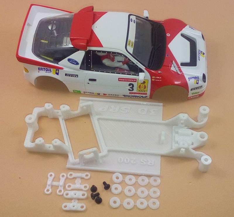 Chasis de Impresion 3D Fors RS 2000